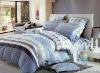 4 pcs silk bed sheet set