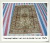 400L turkish 3x5 chinese handmade 100% natural silk carpet tiles