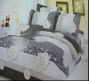 4PC/7PC 100% POLYESTER floral bedding bed cover quilted bedspreads