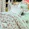 4PC/7PC 100% REACTIVE COTTON  OR SILK   BEDDING SET