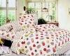 4PCS 100%Cotton Cartoon Jacquard Bedding Set