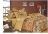 4PCS bed in a bag, Jacquard Bedding Set