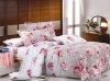 4pc Reactive Printing Cotton Duvet Cover Set\bed cover set\quilt cover set