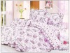 4pcs 100% cotton printed bedding set
