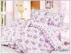 4pcs 100% cotton printed bedding set