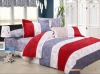 4pcs pigment printed bed sheet set