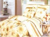 4pcs printed cotton bedding set