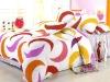 50% polyester 50% cotton jacquard bedding set