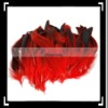 50pcs Home Decor Chicken Feathers for Sale Red