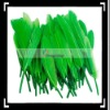 50pcs Home Decor Green Dyed Goose Feather