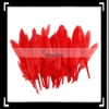 50pcs Home Decor Red Goose Feather