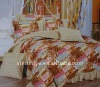 6-piece print new style bedding sets luxury design (sheet,quilt cover,etc.)
