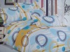 6pcs Microfiber Bed Set with Reactive Printed