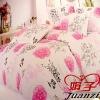 7 PCS bed linens comforter