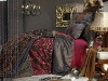 7 pcs king bedding set luxury/luxury silk jacquard bedding sets/faux silk bedding sets/imitated silk bedding set