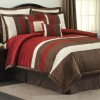 7Pcs Patchwork Comforter Set