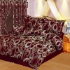 7pc yarn dyed jacquard comforter set