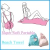 80% polyester and 20% polyamide Microfiber portable Beach Towel