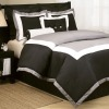8Pcs Faux Silk Comforter Set