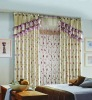9-Color Embroidered Curtain