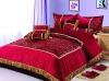 9 pcs bridal bedding set