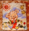 A funny porket going to school polyester blanket