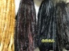 AKLTM05 mink fur trimming. 100% real mink fur with dyed color. Fur trimming on sell in wholesale price