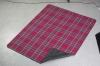 Acrylic fabric picnic blanket/Fleece travel blanket