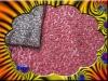 Acrylic slub embroidered sequin knitting fabric wool