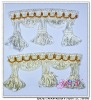 Afia cord tassel fringe for curtain