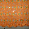 African Hand cut voile lace