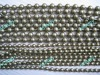 Antique Brass Bead Chain Curtain