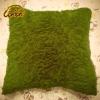 Artistic Wild Petal Pleated Cushion Throw Pillow
