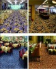 Axminster carpet for hotel banquet hall