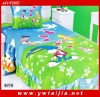 Beautiful kids cartoon quilt set
