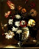 Beautiful vase flower fabric picture,tapestry wall hangings,decoration picture fabric