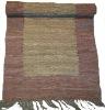 Beautiful woven leather mats