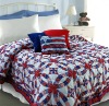 Bedding set red and white