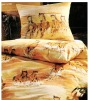 Bedsheet with Horse Print