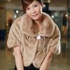 Black fashion exotic fur coats for women