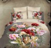 Blooming Flowers !100%Combed Cotton Reactive Printed Bedding