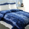 Blue Comforter Double Bed Designs