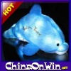 Blue dolphin shaped Led Light Pillow