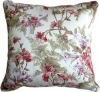 Brookside Garden Rose 17''x17'' Cushion(HZY-P-8133)