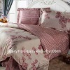 CN winter floral bed sheet