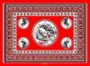 CROCODILE RED KG17.2 KANGA FABRICS