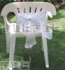 CS0002 White organza chair cover sashes