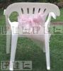 CS0003 Pink vogue organza chair sashes