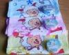 Cartoon style compressed towel