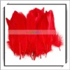 Cheap! 50pcs Red Wholesale Duck Feathers